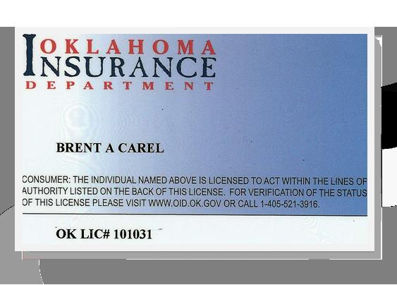 OK Insurance License 101031