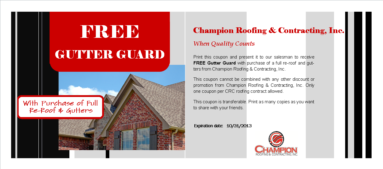 $300 Off on Re-roof Coupon